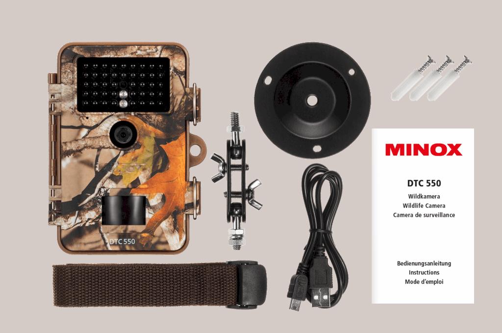 Minox DTC 550 accessoires